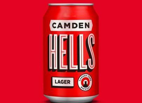 Camden Hells Lager - 1 x 330ml can