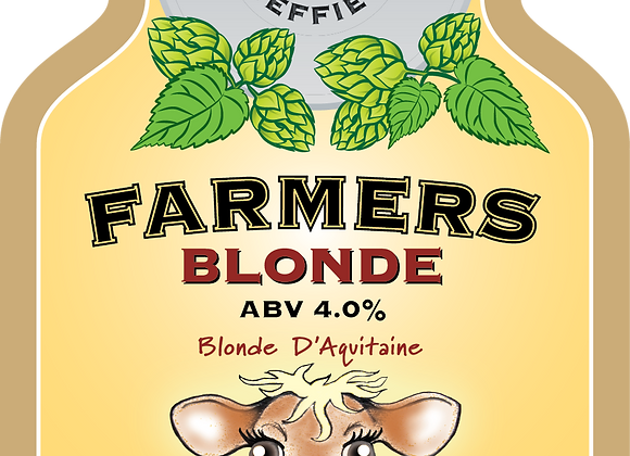 Farmers Blonde - Bradfield - 1 x 500ml NRB