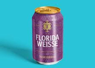 Florida Weiss - Thornbridge 1 x 330ml CAN