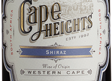 Cape Heights Shiraz 1 x 75cl NRB