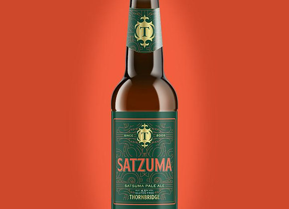 Satzuma - Thornbridge - 1 x 330ml bottle - Gluten free