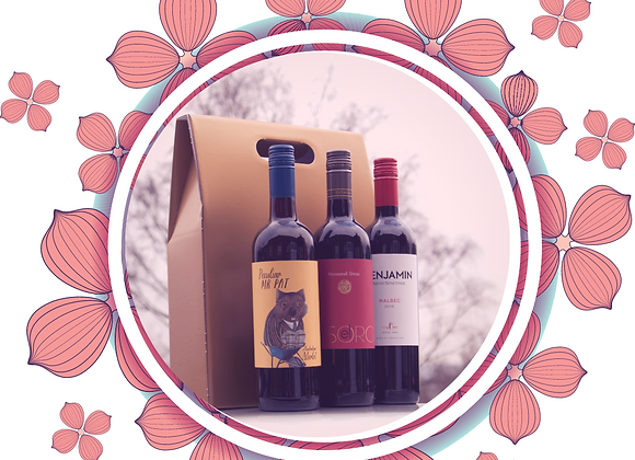 Trio of Reds, Gift Box