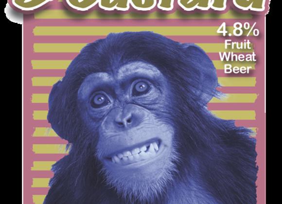 Blubarb & Custard - Blue Monkey - 1 x 500ml bottle