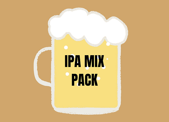IPA Selection - Case of 12 Bottles & Cans
