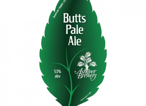 Butts Pale Ales - Ashover Brewery 1 x 500ml NRB
