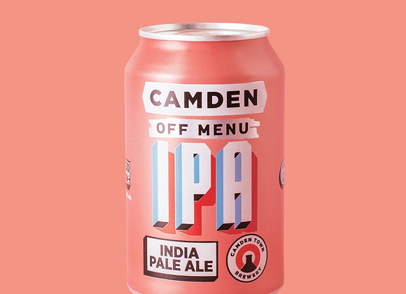 Camden Off Menu IPA - 1 x 330ml can