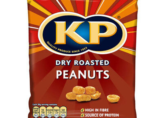 KP Dry Roasted Nuts 1 x 50g bag