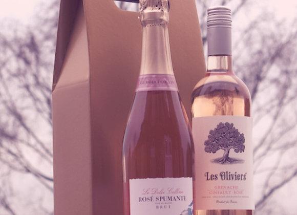 Sparkling & Still Rosé Gift Box