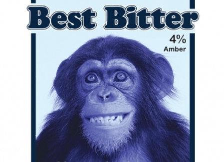 Primate - Blue Monkey Brewery - 1 x 500ml NRB