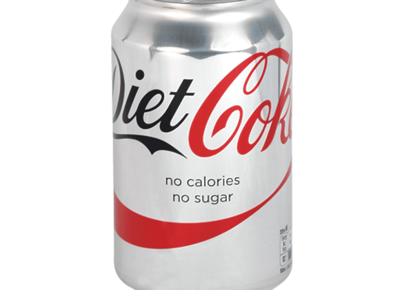 Diet Coca Cola 1 x 330ml Can