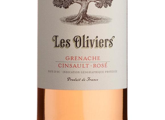 Les Oliviers Grenache Cinsault Rose - 1 x 75cl NRB
