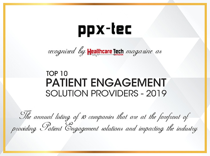 PPX-Tec: Top 10 Patient Engagement Solution Providers 2019