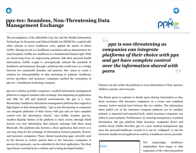PPX-TEC: Seamless, Non-threatening Data Management Exchange
