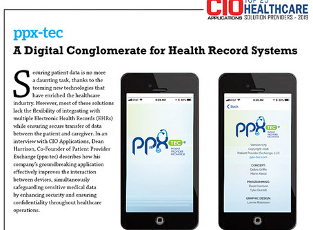 PPX-Tec Named Top 25 Healthcare Solution Providers by CIO Applications