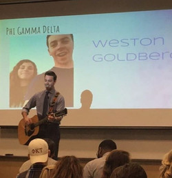 Congratulations to Brother Weston Goldberg for winning App State's Greek God 2k17!