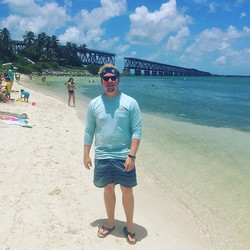 Brother Alex Wetzel enjoyed his summer in the Florida Keys while working for the Hawks Cay family re
