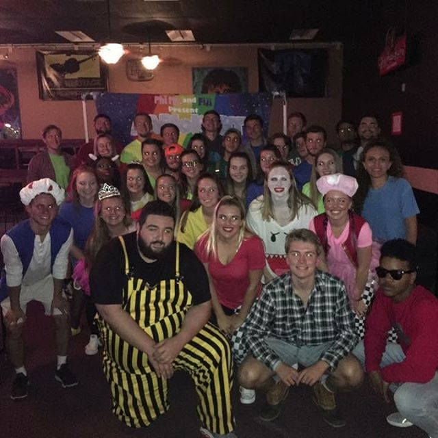 Thank you Phi Mu for being such great lip sync partners!