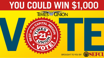 """Vote for Us in """"Best of 2021"""" in the Capital Region"""