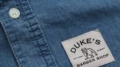 DBS Men's Blue Denim Shirt