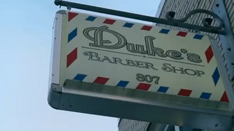 """holy black ny"" Visits Dukes Barber Shop"