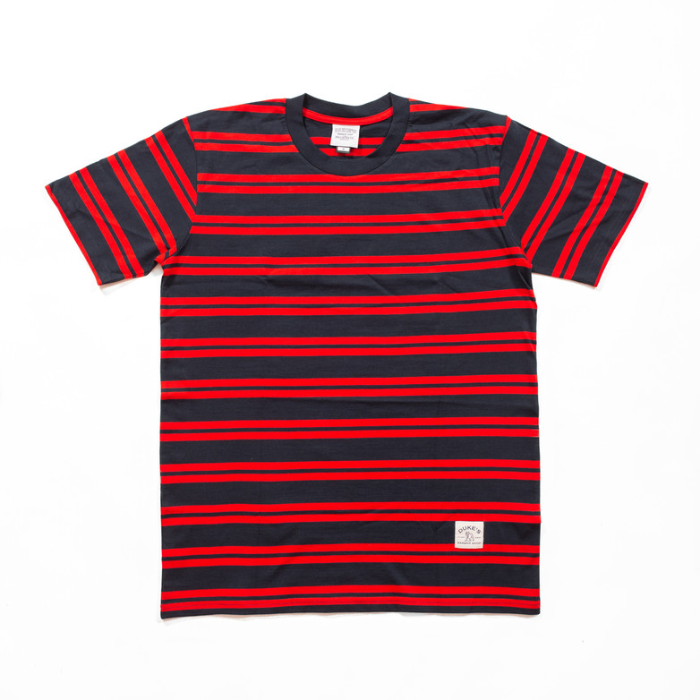 Striped T-Shirt with Max Logo Patch