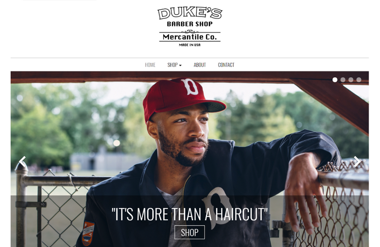 25% Off Labor Day Sale on Duke's Barber Shop Mercantile Co.