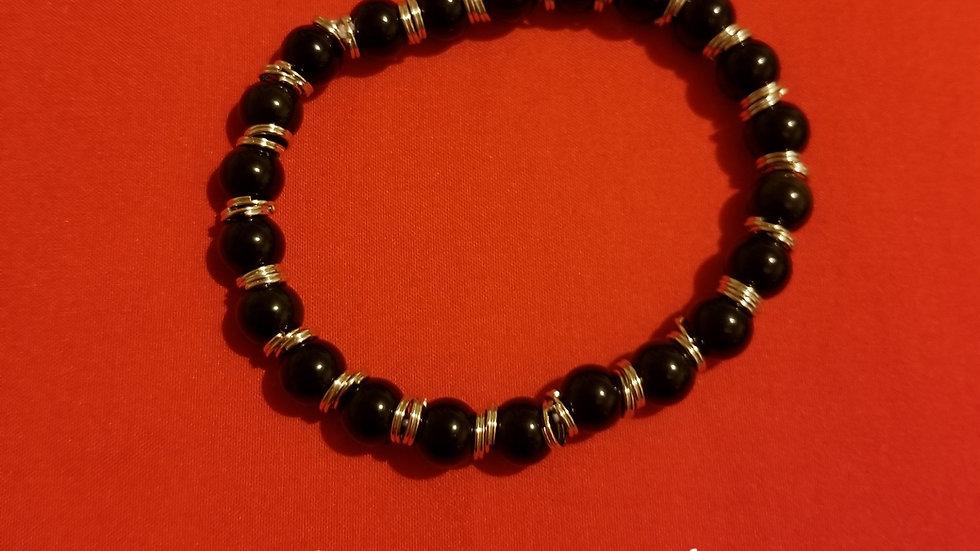Energy Healing bracelet - Black Obsidian