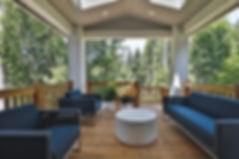 european family room design