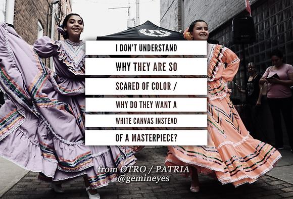 Poetry Broadside - Las Dos Fridas