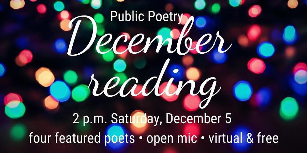 Public Poetry's Virtual Reading