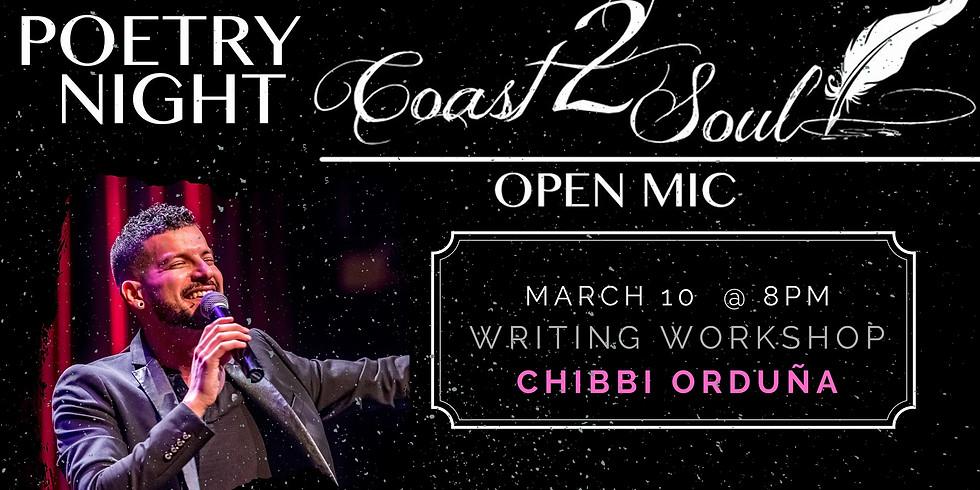 Coast2Soul Poetry Workshop + Open Mic