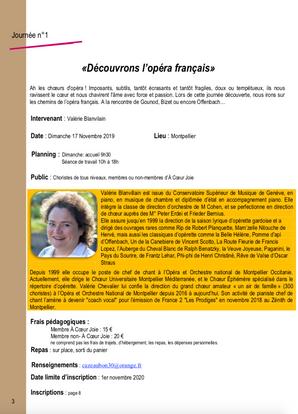 Découvrons l'Opéra Français - Languedoc Roussillon