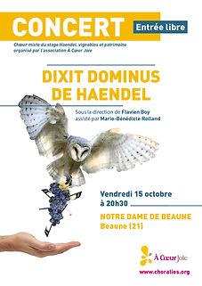 Chœur mixte du stage ACJ Haendel - Dixit Dominus