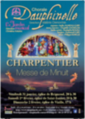 Concerts Dauphinelle - Charpentier Messe