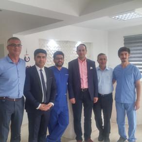 İranlı doktor arkadaşlarımıza storz dualith şok dalga tedavisi ile ilgili deneyimlerimizi aktardık.