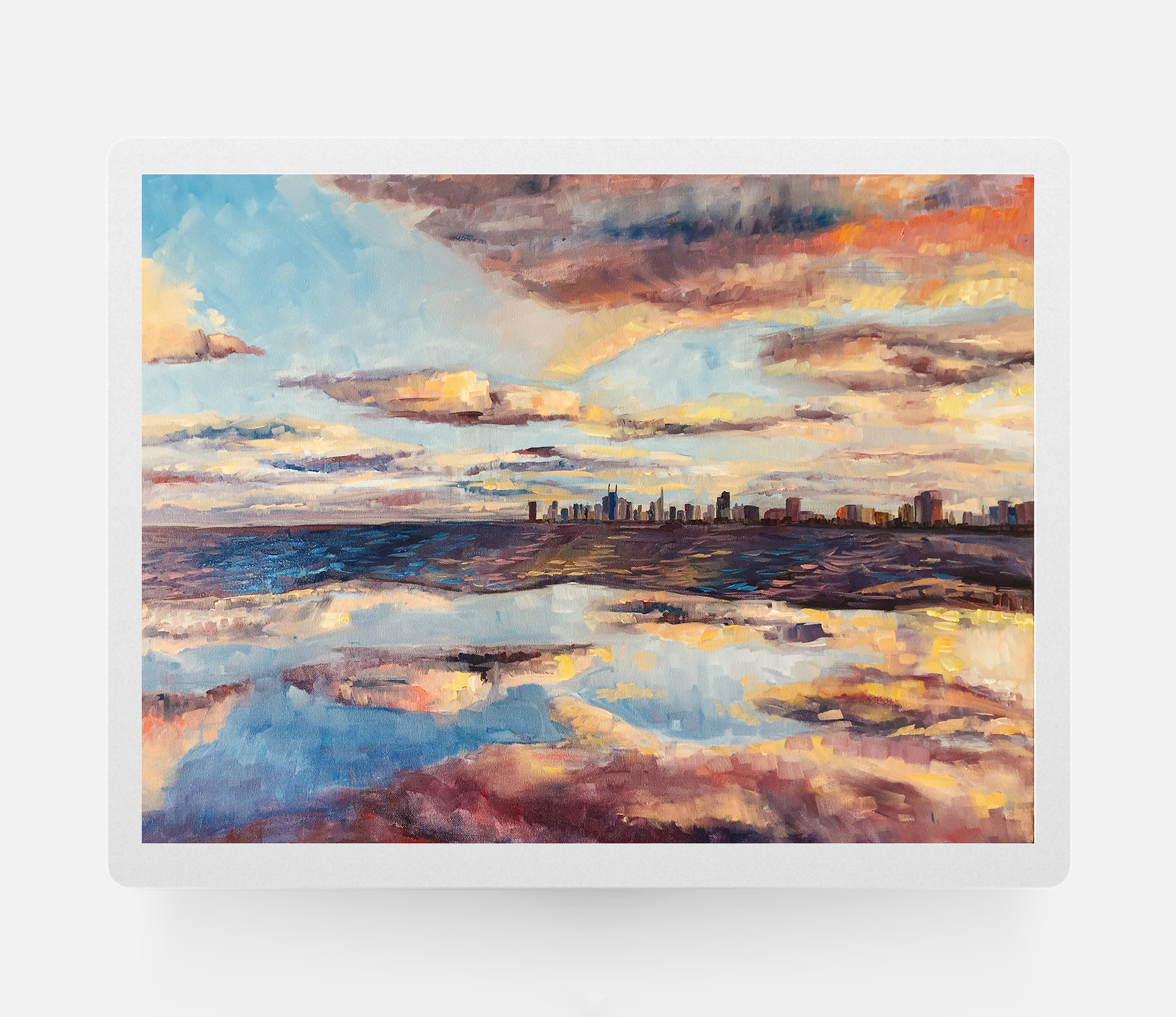 Ice, Sky and City