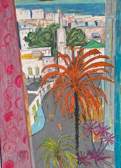 Window in Tangier, 2020