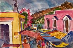 Oaxaca- Tops of Awnings, 2004
