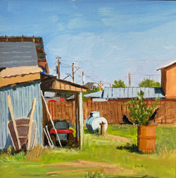 Truchas Backyard, 2015