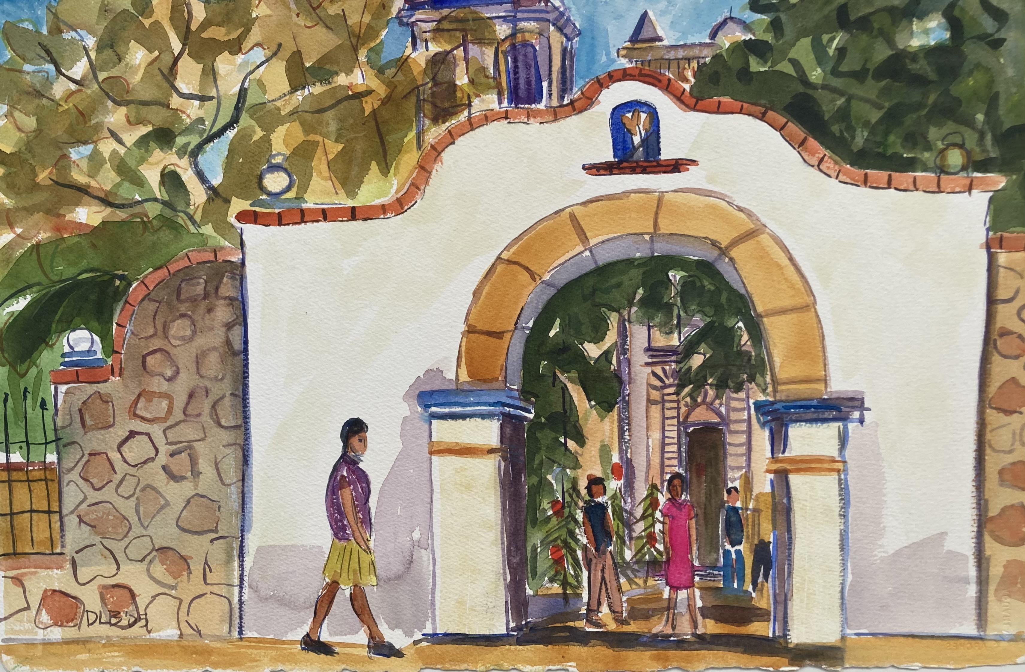 Church Entry- San Martin Tilcajete, 2004-2005