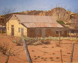 Abandoned Adobe- Fort Davis, 2006