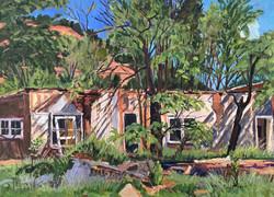 Roofless Adobe- Sena, 2006