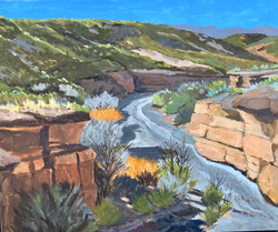 Arroyo with Morning Light, 2018-2019