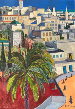 View From Matisse's Window- Tangier, 1998-2001
