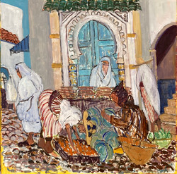 Market in Chechaouen, 2021