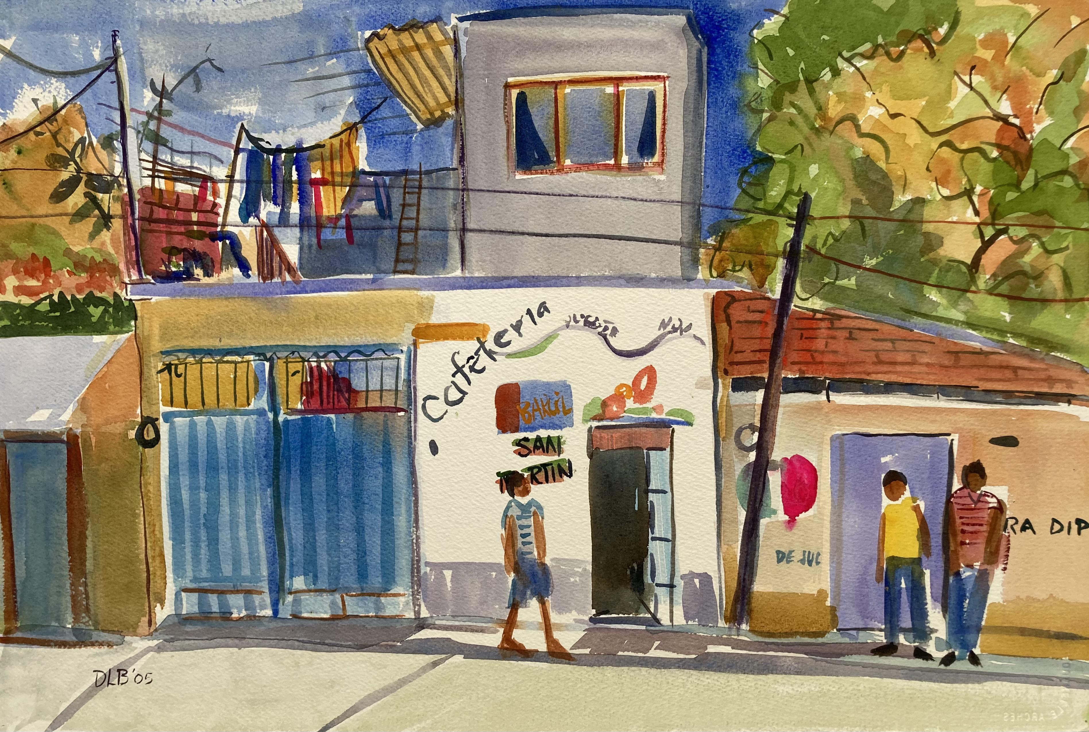 Streetscene- San Martin Tilcajete, 2004-2005