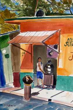 Pottery Shop in San Bartola, 2004-2010
