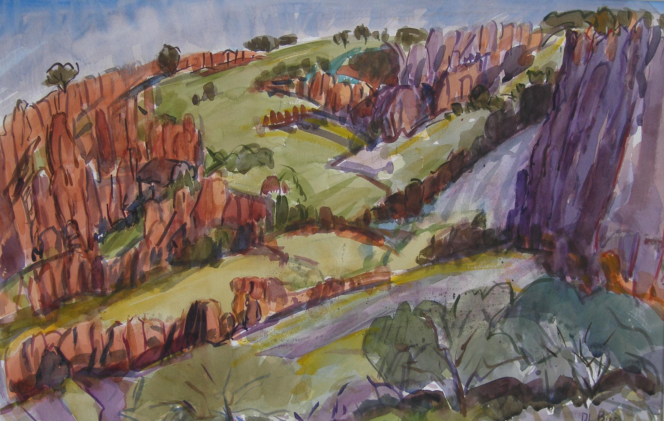 Limpia Canyon Palisades, 2013