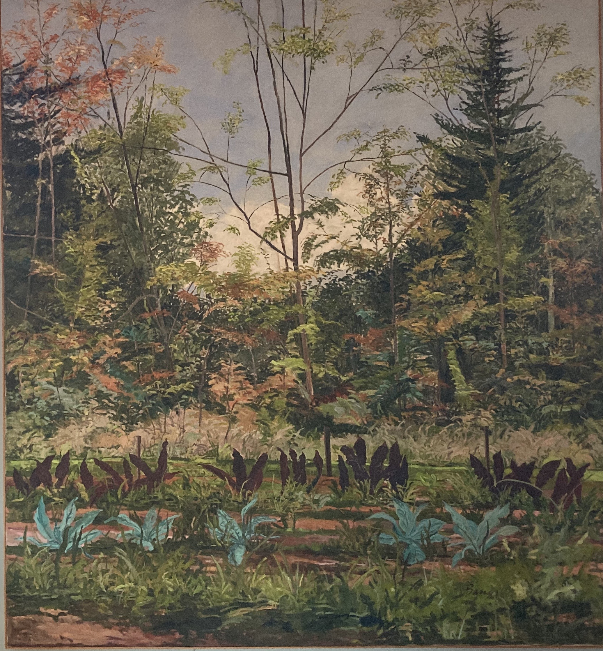 Landscape at Yaddo 18, 1981-1982