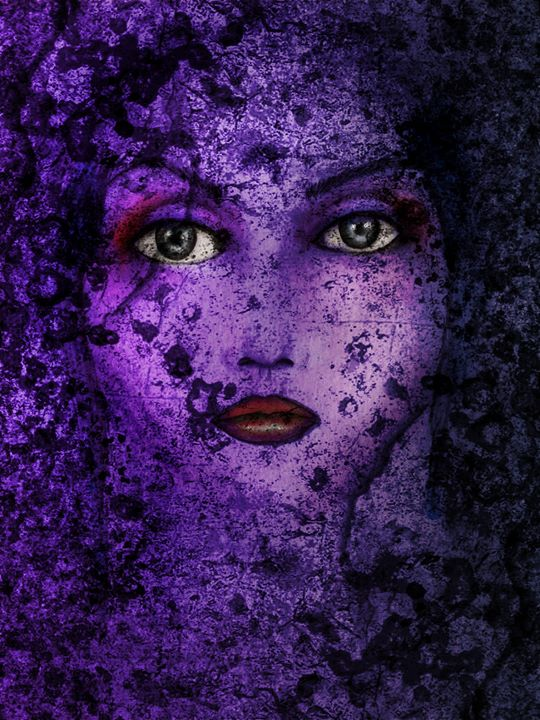 Face It series_ 'Violet Alchemy'...